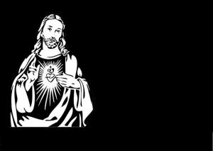 MOD.64 CORAZÓN DE JESUS ORANDO